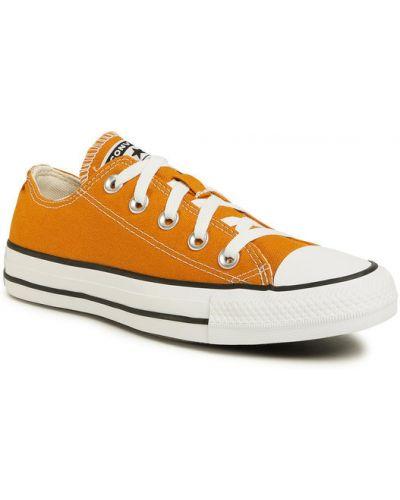 Trampki, pomarańczowy Converse
