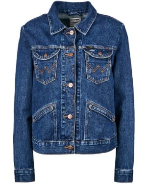 Джинсовая куртка с карманами Wrangler