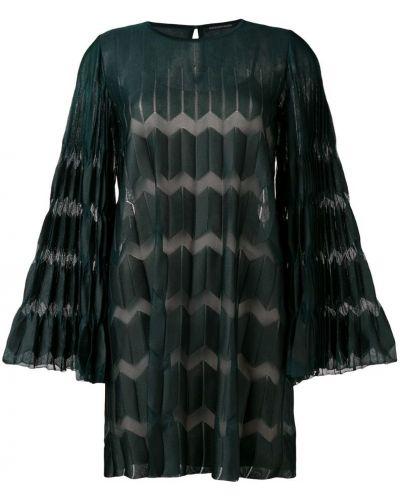 Платье на пуговицах плиссированное Antonino Valenti