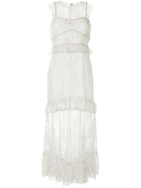 Платье со вставками прозрачное без рукавов с вырезом Alice Mccall