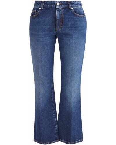 Расклешенные джинсы классические на пуговицах Alexander Mcqueen
