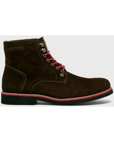 Кожаные ботинки высокие повседневные Big Star