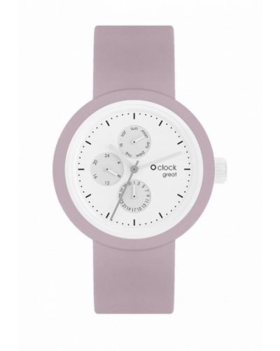 Розовые часы O Bag