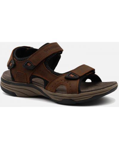 Кожаные сандалии - коричневые Lumberjack