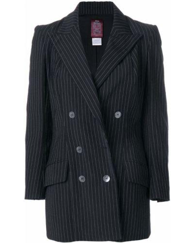 Черная куртка с манжетами John Galliano Pre-owned