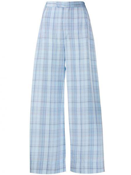 Прямые укороченные брюки с воротником с поясом на пуговицах Jejia