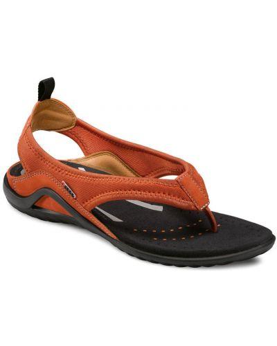 Сандалии на каблуке оранжевый Ecco