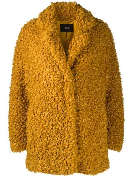 Свободная желтая куртка оверсайз Steffen Schraut