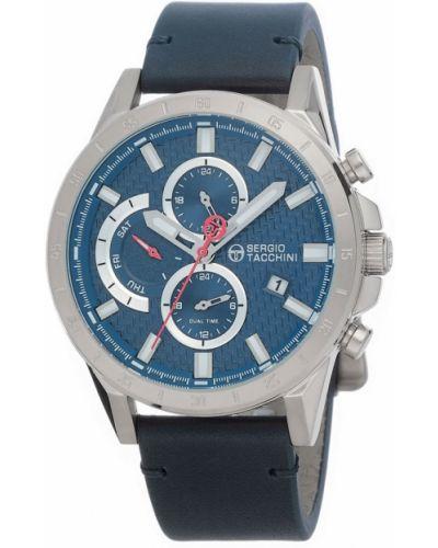 Синие часы с ремешком Sergio Tacchini