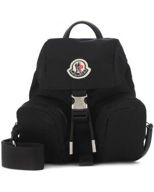Czarny torebka mini skórzany Moncler