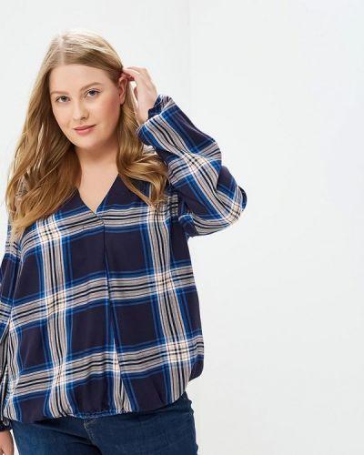 Блузка с длинным рукавом индийский синяя Marks & Spencer