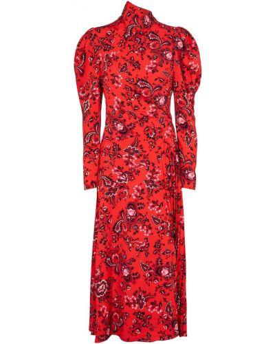 Платье миди Erdem