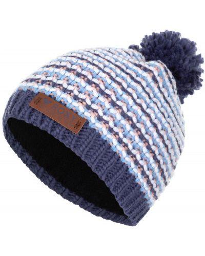 Синяя шапка спортивная Roxy