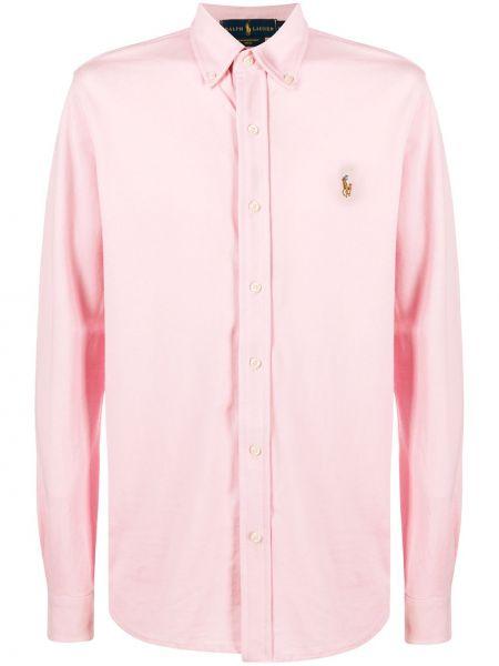 Рубашка с длинным рукавом - розовая Polo Ralph Lauren