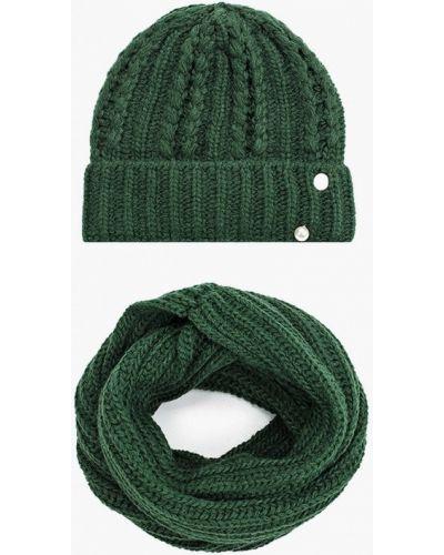 Зеленый демисезонный шарф Trendyangel