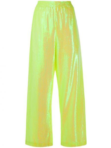 Спортивные брюки свободные с пайетками Mm6 Maison Margiela