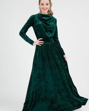Вечернее платье осеннее зеленый Marichuell