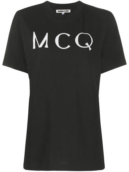 Футболка с логотипом Mcq Alexander Mcqueen
