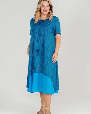 Летнее платье платье-сарафан с вырезом Luxury