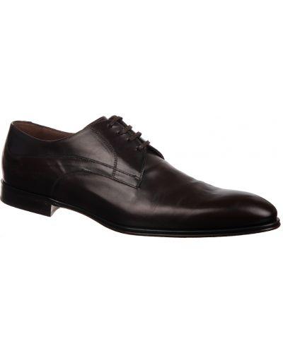 Кожаные туфли - коричневые Dolce & Gabbana
