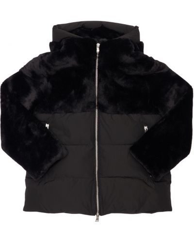 Черная нейлоновая куртка Bomboogie