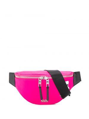 Поясная сумка розовый Karl Lagerfeld