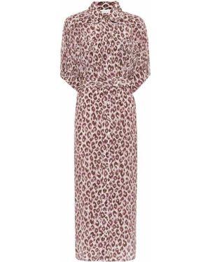 Летнее платье миди леопардовое Zimmermann