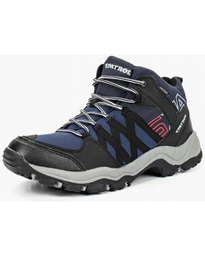Треккинговые ботинки осенние кожаные Patrol