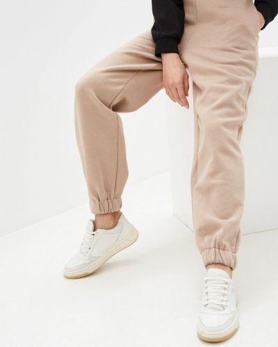Бежевые спортивные брюки Zarina