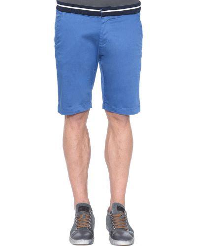 Шорты хлопковые голубой Lagerfeld