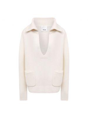 Кашемировый свитер - белый Allude