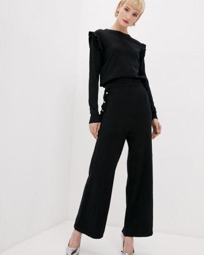 Костюмный вязаный черный костюм Tantra