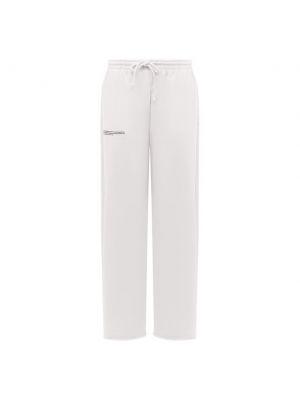 Трикотажные брюки - белые Pangaia