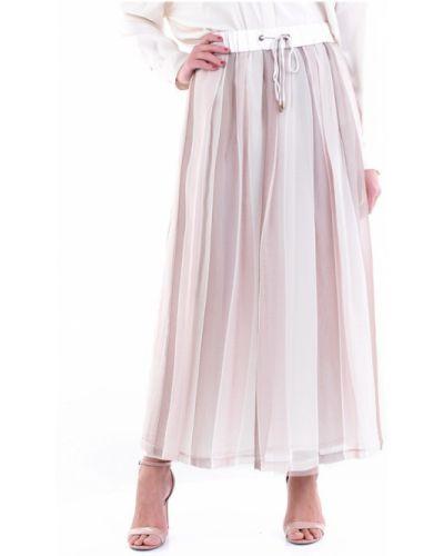 Różowa spódnica maxi Cappellini