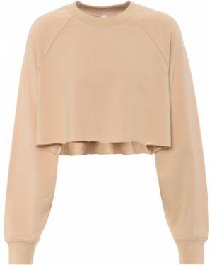 Ciepła beżowa bluza bawełniana Alo Yoga