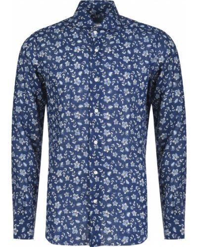 Рубашка - синяя Barba Napoli