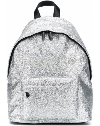 Рюкзак на молнии круглый на бретелях Pinko Kids
