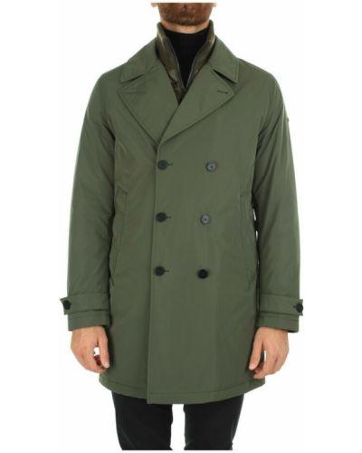 Zielony płaszcz przeciwdeszczowy Duno