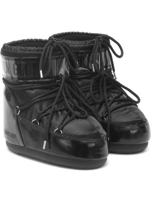 Полусапожки классические - черные Moon Boot