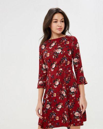 Платье бордовый красный Oasis