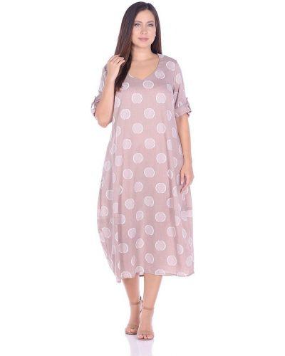 Платье с V-образным вырезом Blagof