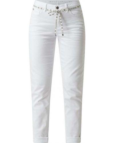 Białe jeansy bawełniane Rosner