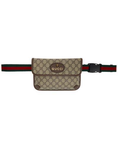 Z paskiem pasek złoto z prawdziwej skóry zabytkowe Gucci