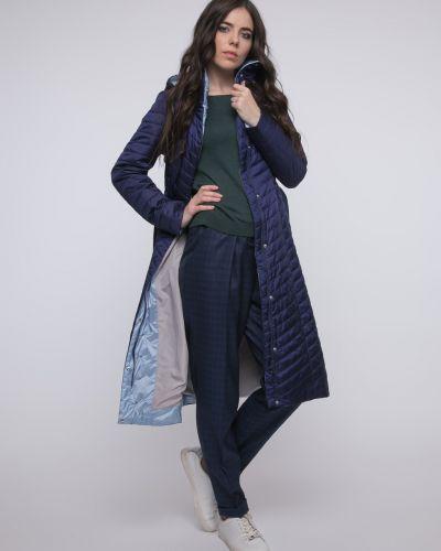 Пальто на молнии - синее Snowimage