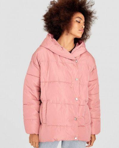 Зимняя куртка утепленная осенняя Stradivarius