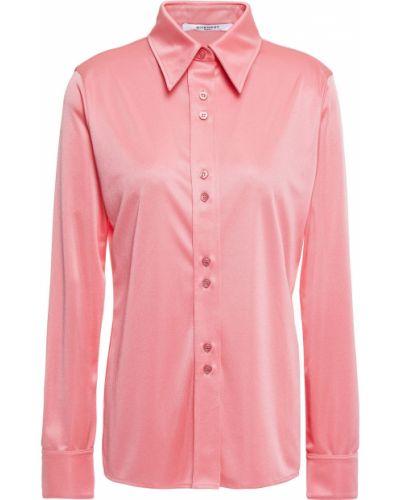 Satynowa koszula zapinane na guziki Givenchy