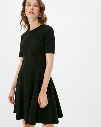 Черное платье-футляр Lusio