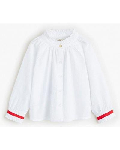 Блуза белая индийский Mango Kids