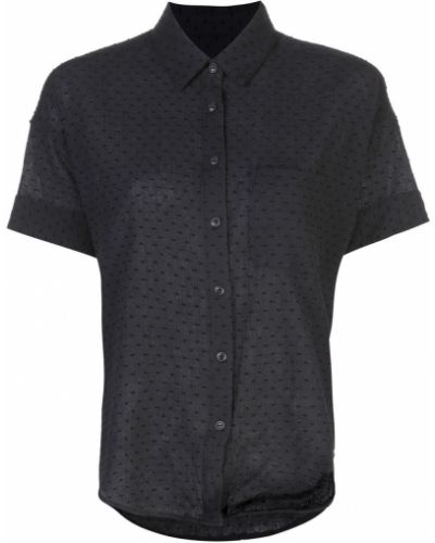 Классическая рубашка с карманами в горошек Rag & Bone