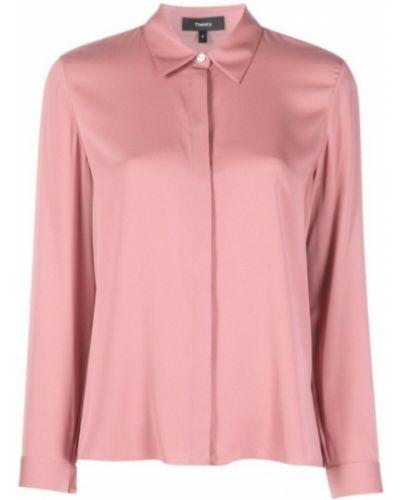 Różowa koszula Theory